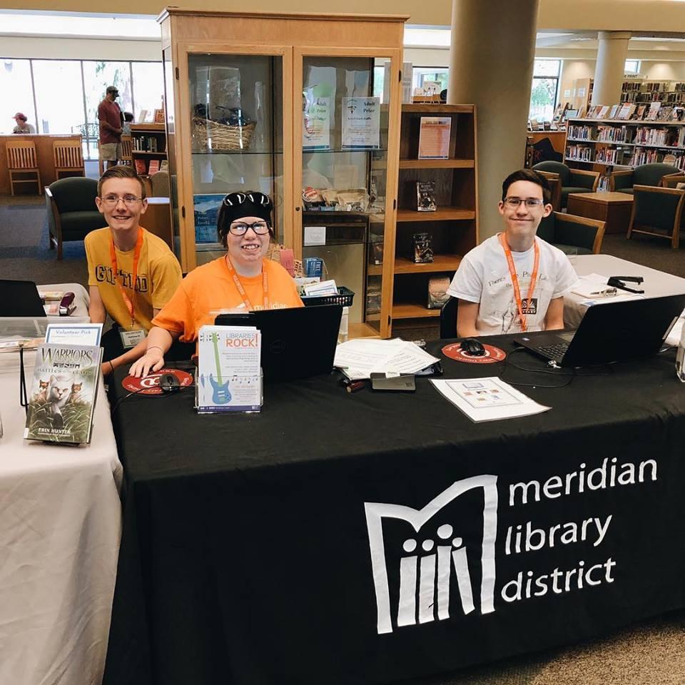 Teen Summer Reading Volunteers