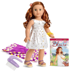 American Girl Doll Blaire and accessories