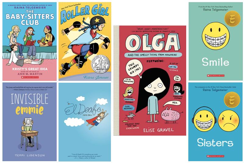 7 graphic novel books