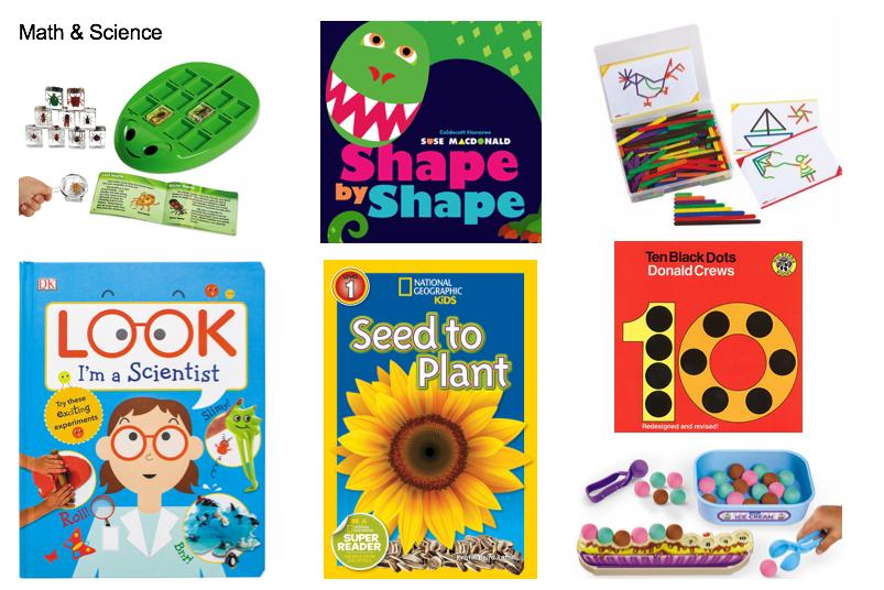 kit contents: 4 books, 3 activities
