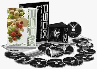 P90X DVDs and guides
