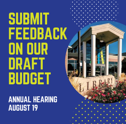 Submit feedback on our draft budget